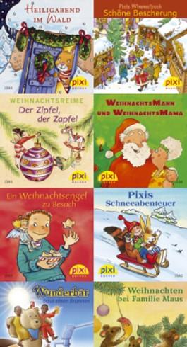 Pixi-Bücher / Fröhliche Weihnachten mit Pixi