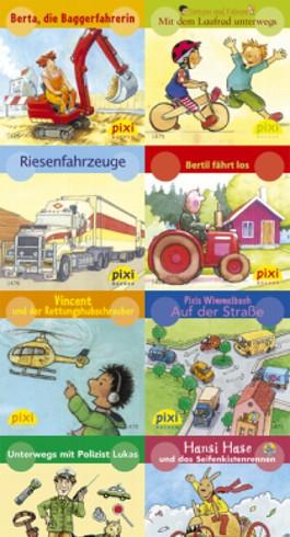 Pixi-Bücher / Pixi-Serie 164: Autos, Bagger und Traktoren
