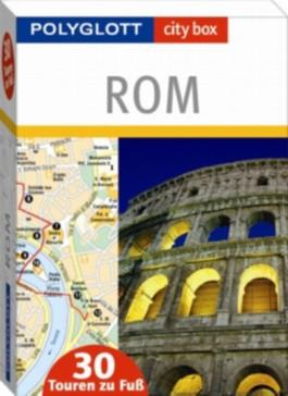 Polyglott city box Rom - Box mit 30 Tourenkarten und Beiheft