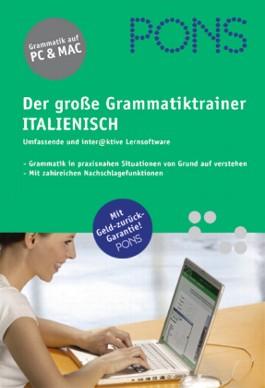 PONS Der große Grammatiktrainer Italienisch, 1 CD-ROM