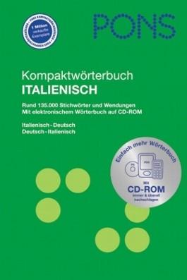 PONS Kompaktwörterbuch Italienisch. Italienisch-Deutsch /Deutsch-Italienisch