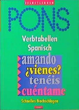 PONS Verbtabellen, Spanisch
