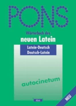 PONS Wörterbuch des neuen Lateins