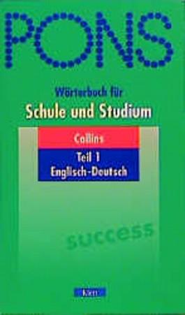 PONS Wörterbuch für Schule und Studium, Collins Englisch-Deutsch