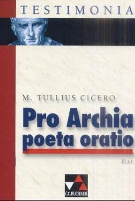 Pro Archia poeta oratio - Textband