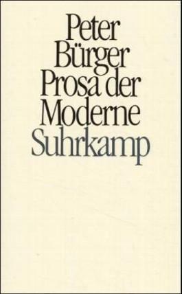 Prosa der Moderne