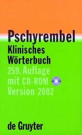 Pschyrembel Klinisches Wörterbuch 2002, m. CD-ROM