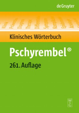 Pschyrembel Klinisches Worterbuch/ Pschyrembel Clinical Dictionary