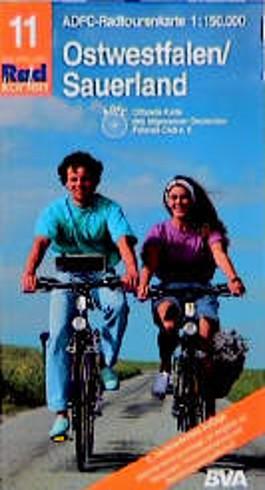 Radtourenkarten 1:150000 (ADFC)