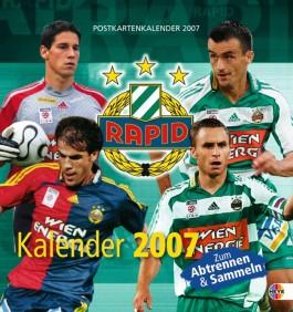 Rapid Wien Postkartenkalender 2008