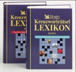 Reader's Digest Kreuzworträtsel-Lexikon, 2 Bde.