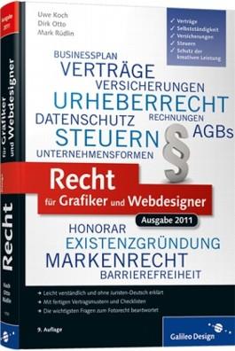 Recht für Grafiker und Webdesigner, Ausgabe 2011