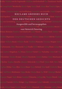 Reclams großes Buch der deutschen Gedichte