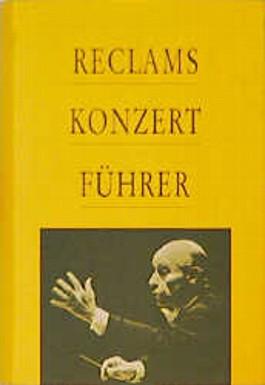 Reclams Konzertführer. Orchestermusik