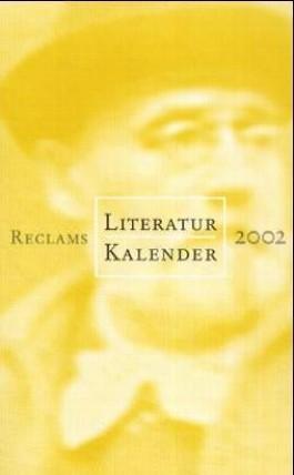 Reclams Literatur-Kalender 2002
