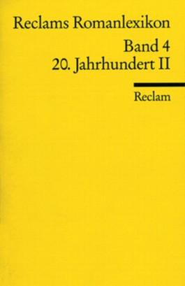 Reclams Romanlexikon