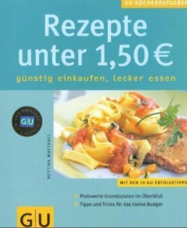Rezepte unter 1,50 EURO