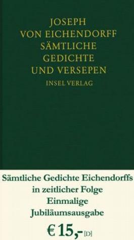 Sämtliche Gedichte Und Versepen Von Joseph Von Eichendorff