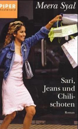 Sari, Jeans und Chilischoten