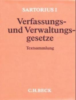 Sartorius 1 Verfassungs- und Verwaltungsgesetze, Grundwerk ohne Fortsetzung