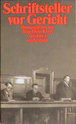 Schriftsteller vor Gericht