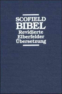 Scofield Bibel - Surbalin blau