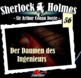 Sherlock Holmes - Der Daumen des Ingenieurs, 1 Audio-CD