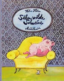 Sieben wilde Schweine