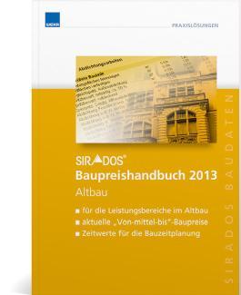 sirAdos Baupreishandbuch 2014 Altbau