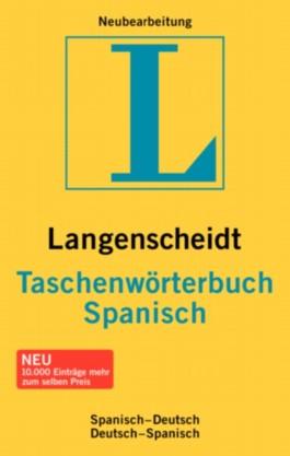 Spanisch-Deutsch / Deutsch-Spanisch. Taschenwörterbuch. Langenscheidt. Über 110 000 Stichwörter und Wendungen (Langenscheidt Taschenwörterbücher)