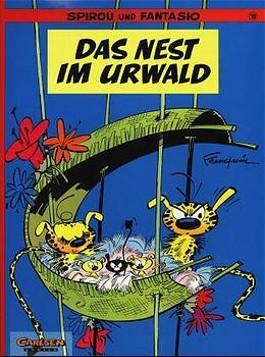 Spirou und Fantasio, Carlsen Comics, Bd.10, Das Nest im Urwald