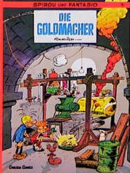 Spirou und Fantasio, Carlsen Comics, Bd.18, Die Goldmacher