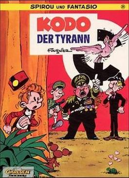 Spirou und Fantasio, Carlsen Comics, Bd.26, Kodo, der Tyrann