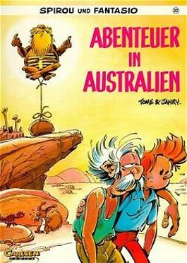 Spirou und Fantasio, Carlsen Comics, Bd.32, Abenteuer in Australien