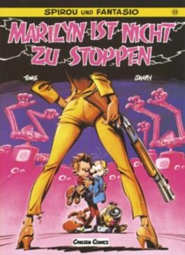 Spirou und Fantasio, Carlsen Comics, Bd.33, Marilyn ist nicht zu stoppen