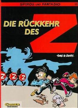 Spirou und Fantasio, Carlsen Comics, Bd.35, Die Rückkehr des Z
