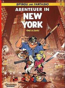 Spirou und Fantasio, Carlsen Comics, Bd.37, Abenteuer in New York