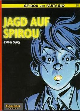 Spirou und Fantasio, Carlsen Comics, Bd.44, Jagd auf Spirou (Carlsen Comics)