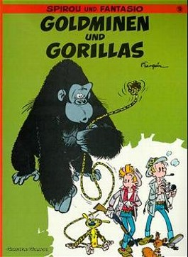 Spirou und Fantasio, Carlsen Comics, Bd.9, Goldminen und Gorillas
