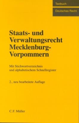 Staats- und Verwaltungsrecht Mecklenburg-Vorpommern