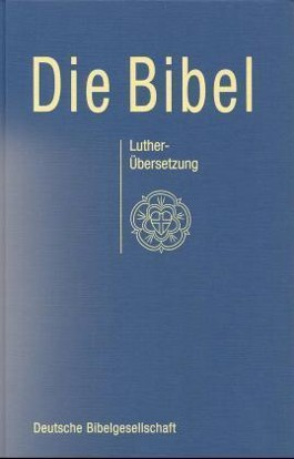 Standardbibel mit Apokryphen, blau (Nr.1522)