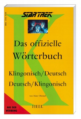 Star Trek, Das offizielle Wörterbuch Klingonisch-Deutsch/Deutsch-Klingonisch