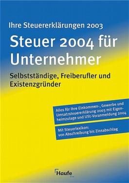 Steuer 2004 für Unternehmer