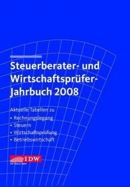 Steuerberater- und Wirtschaftsprüfer-Jahrbuch 2007