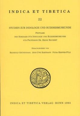 Studien zur Indologie und Buddhismuskunde