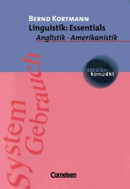studium kompakt. Anglistik/Amerikanistik / Linguistik: Essentials