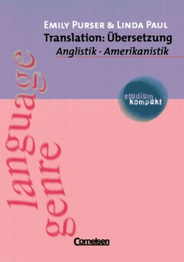 studium kompakt. Anglistik/Amerikanistik / Translation: Übersetzung