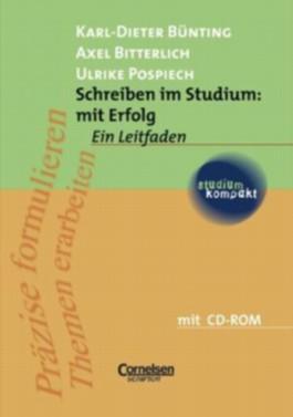 studium kompakt. Pädagogik / Schreiben im Studium: mit Erfolg - Neubearbeitung 2006
