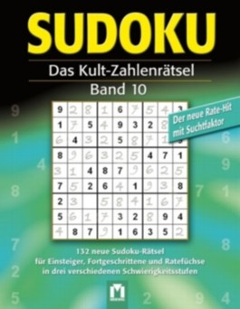 Sudoku Rätselblock 10