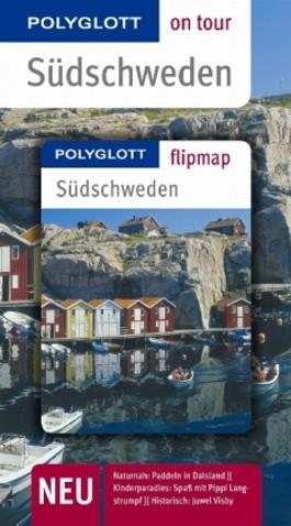 Südschweden - Buch mit flipmap